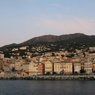 Vue de la ville de Bastia