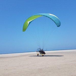 Powered Paragliding - PARATRIKE South of Lima Perú.