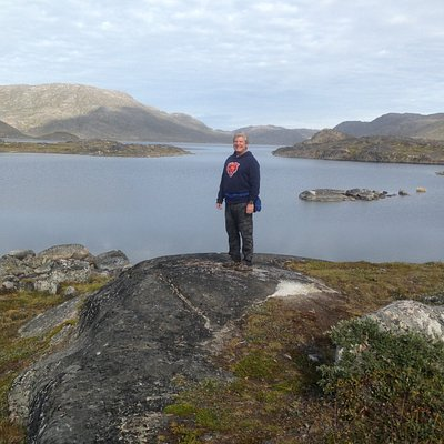 Hike around Lake Tasersuaq in Qaqortoq, Greenland