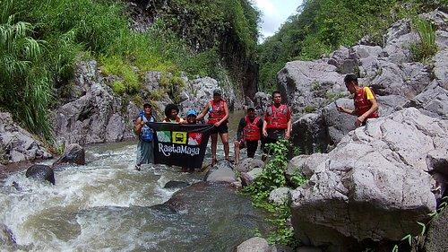 Somoto Canyon at Nicaragua