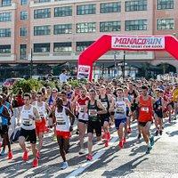 Départ du 5km Herculis - Monaco Run