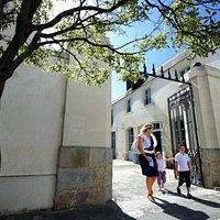 Entrée de l'Office de tourisme de Noirmoutier-en-l'île