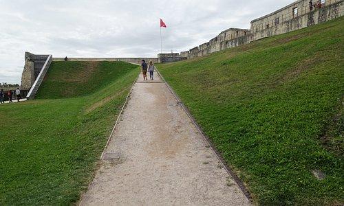 Les Salles du Rempart, Chateau de Caen