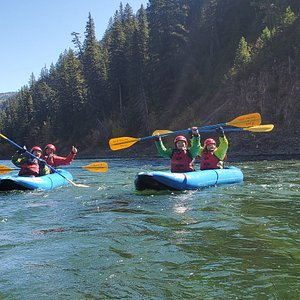 Want an exciting and unique way to see the Snake river?Take a whitewater inflatable kayak trip down the Grand Canyon of the Snake River.