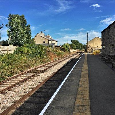 13.  Wensleydale Railway, Leyburn Station