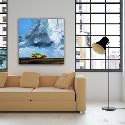 Painting Titled: Storm Break - Painted By Vancouver Artist Sam Siegel. Limited Edition Giclee Canvas Prints of 30. Free Shipping Directly To Your Door.