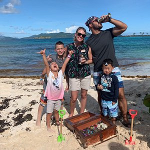 Come see your family's reaction to experiencing a Tropical Treasure Hunt in beautiful St. Thomas, US Virgin Islands!