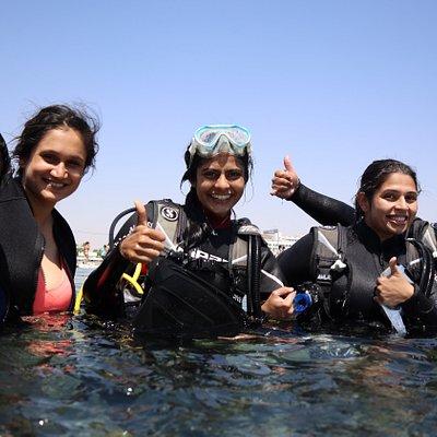 diving in Eilat - dive site Underwater Restaraunt