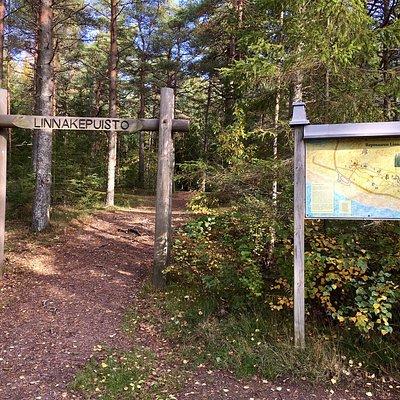 Reposaaren Linnakepuisto