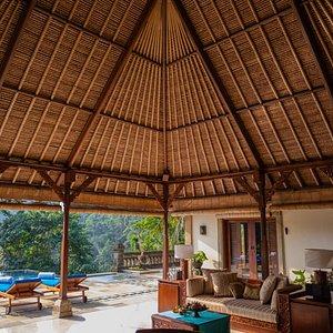 The Maharani Suites Living Area