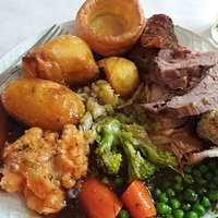 Sunday Carvery today was lovely.