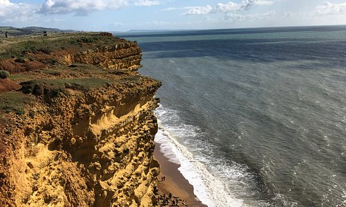 Cliffs near west bay