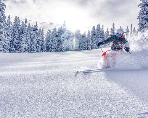 Powder day at Ski Santa Fe!