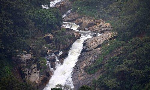 Attukal water falls.