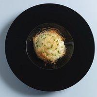 Burrata croccante Foto di Maurizio Anselmi.