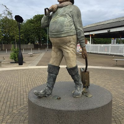 Skegness Jolly Fisherman at the Railway Station