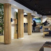 Nouvel espace d'accueil de l'Office de Tourisme Blois Chambord-Val de Loire
