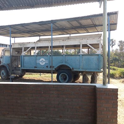 Truck on display in the grounds of Chichirii Museum
