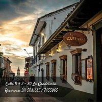 El Aquelarre Restaurante Bar, Ubicado en el corazón del centro histórico de Bogota