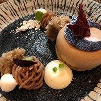 Dessert : Montblanc revisité à base de Crème de marron