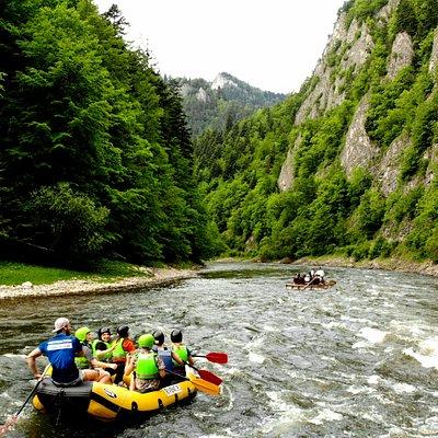 Dunajec River Gorce Rafting