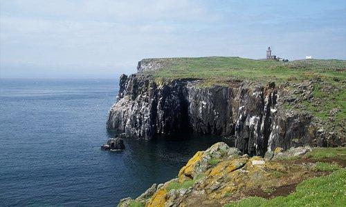 Blick über die Isle of May