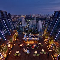 Spectrum Lounge & Bar at Hyatt Regency Bangkok Sukhumvit Floor: 30