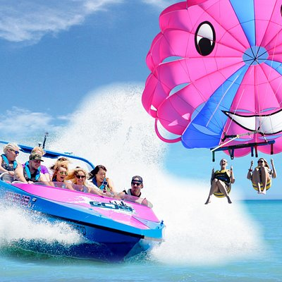GC Jet boat and Parasail