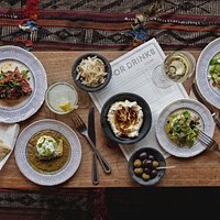 Evening tapas style, small sharing plates