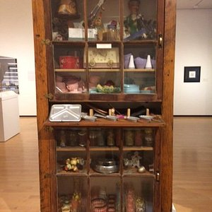 """From """"Creative Cadences: Works by Roger and Greg Brown,"""" Jules Collins Smith Museum"""
