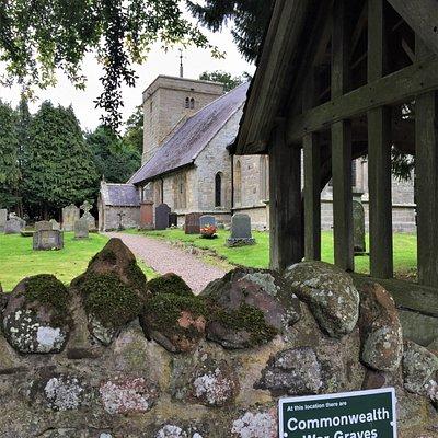 2.  St Michaels and All Angels Church, Ingram; 1920 lychgate, a First World War memorial