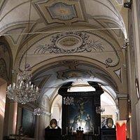 Vue  intérieure du couvent Saint Antoine
