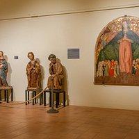 Alcune opere provenienti dalla Chiesa di Santa Maria di Piazza