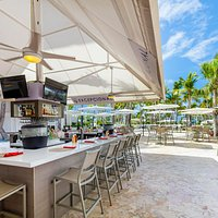 El Bohio Pool & Sports Bar located at the Hilton Ponce Golf & Casino Resort.