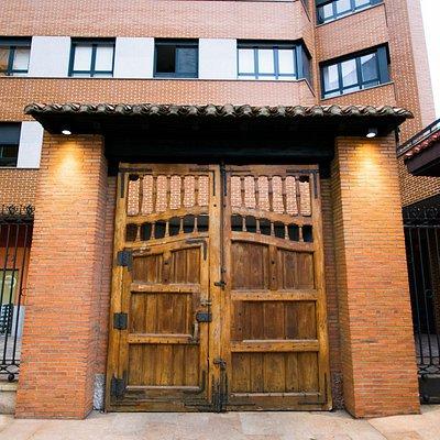 Portón de entrada a nuestro museo
