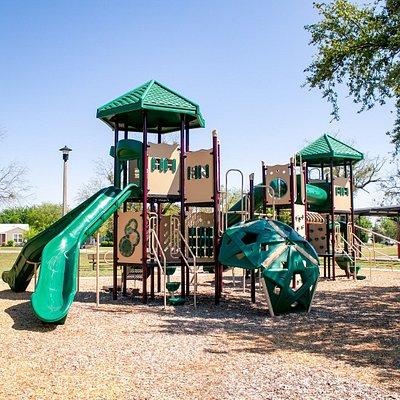 Playground Area in C. W. Gill Park in Abilene Texas