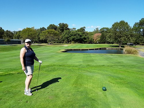 One of the many par 3s on the course. A few of the holes do have water hazards which makes it more fun!