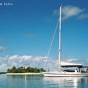 Our beautiful Tropical Island destination for our Private Day Charter