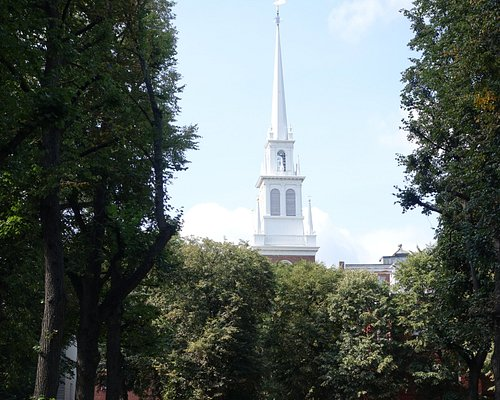 This spire is a most prominent site on the city skyline