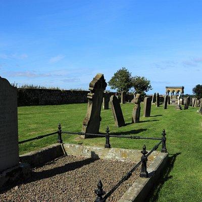 3.  Grace Darling Memorial; the Memorial from Grace Darling's Grave