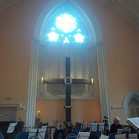 The interior for the concert was impressive yet intimate . .  this was before I Maestri orchestra arrived.