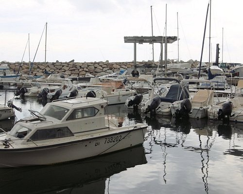 Vue du port de Tolga