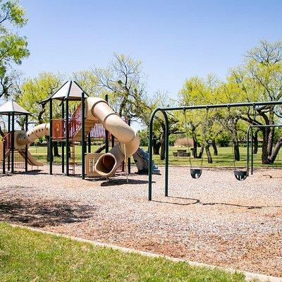 Playground in Vaughn-Camp Park in Abilene, Texas