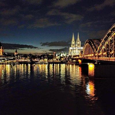 Köln - Blick auf Altstadt und Dom