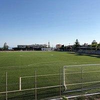 Γήπεδο Ιδομενέα Γαλατά 1908.  Soccer Field Idomeneas Galata 1908.