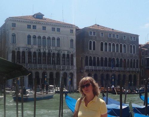 Она, Palazzo Ca' Farsetti e Palazzo Ca' Loredan, Via del Carbon, Венеция.