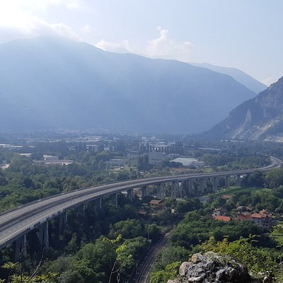 Utsikt in mot dalen