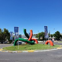 Great looking worms on roundabout