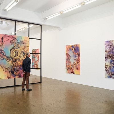 Judy Millar - A World Not of Things Installation View 2019 Gow Langsford Gallery - Lorne Street