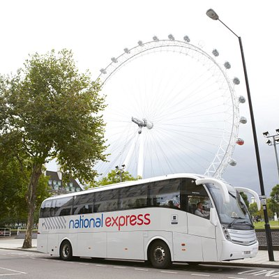 National Express Coach services to central London